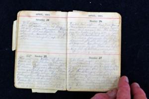 ANZAC diary